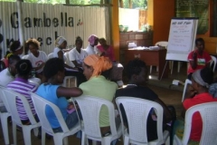 Peer Education Session For Female Sex Workers: Gambella Drop In Center