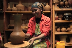 Equipping Women With Skills:Pottery Hubs
