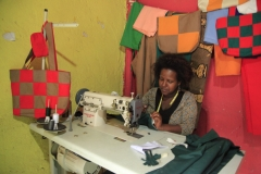 Equipping Women With Skills:Sewing Hubs