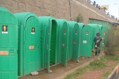 Pilot Toilets in Addis Ababa