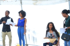 Smashed Auditions.Tayetu Hotel, Addis Abeba