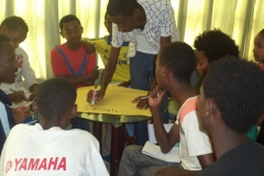 Highschool students peer education trainings