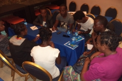 Highschool students and teachers peer education trainings
