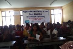 Peer Educators Recognition and Graduation For Highschool Students